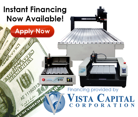 Get Instant Engraving Machine Financing with Vista Capital Corporation