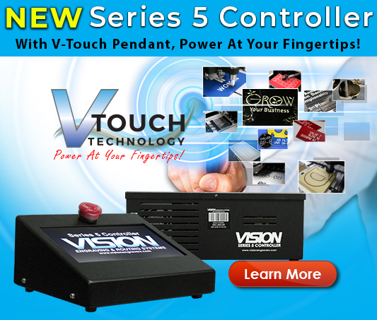 Vision's NEW Series 5 Controler With V-Touch Pendant