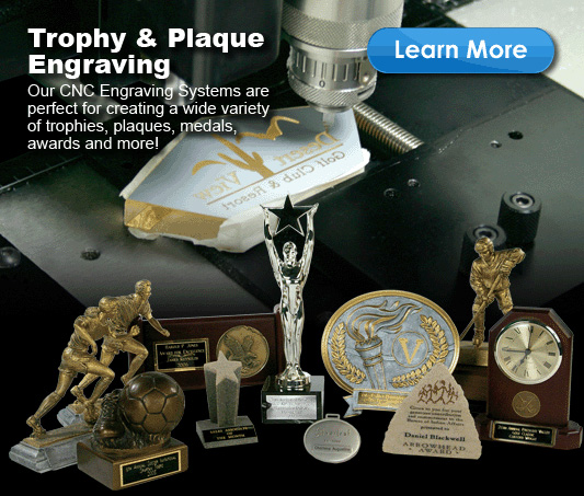 Trophy and plaque you can make with an engraving or cnc routing machine