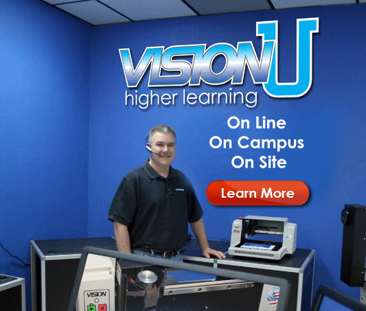 Engraving and CNC Router Training with VisionU
