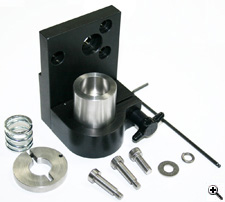 Bracket for Braille Insertion Tool